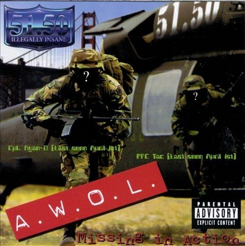 "51.50 ""A.W.O.L. MISSING IN ACTION"" (USED CD)"
