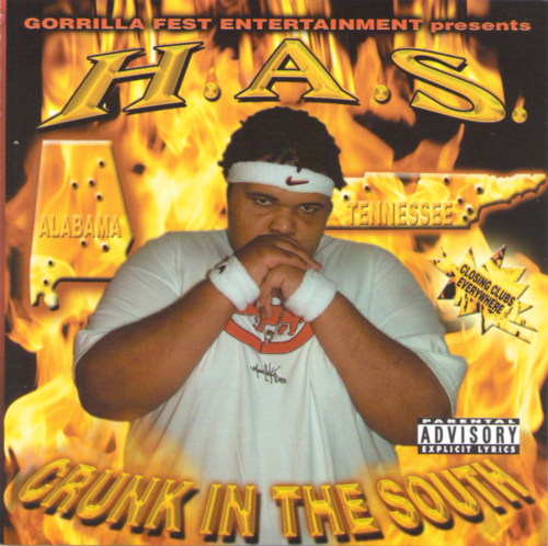 "H.A.S. ""CRUNK IN THE SOUTH"" (USED CD)"