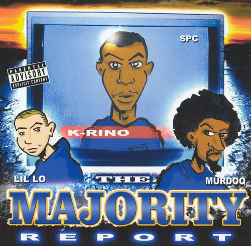 "K-RINO, MURDOQ & LIL LO ""THE MAJORITY REPORT"" (USED CD)"