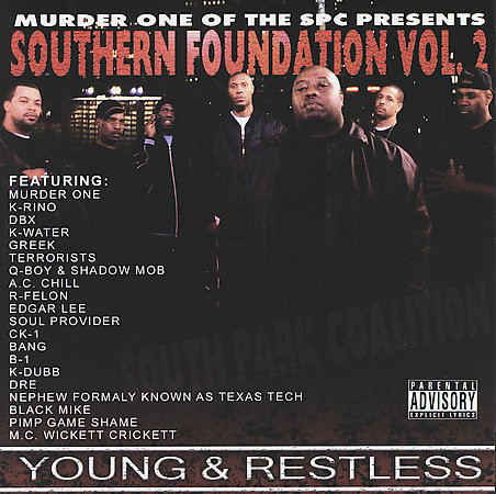 "MURDER ONE (SPC) ""SOUTHERN FOUNDATION VOL. 2"" (USED CD)"