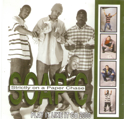 "SOAP C ""PLAY IT LIKE IT GO 2000"" (CD)"