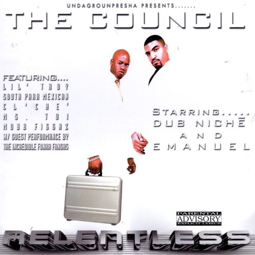 "THE COUNCIL ""RELENTLESS"" (USED CD)"