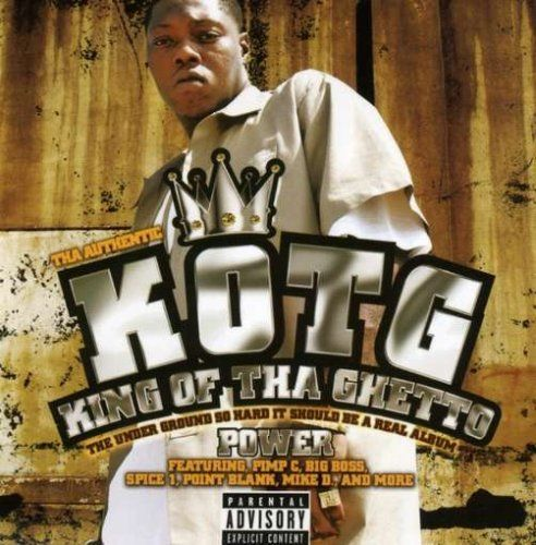 "Z-RO ""KOTG - KING OF THA GHETTO: POWER"" (USED CD)"