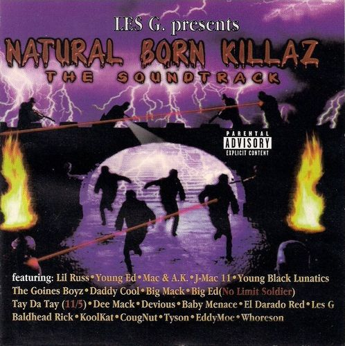 "LES G. PRESENTS ""NATURAL BORN KILLAZ"" (USED CD)"