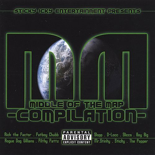 "STICKY ICKY ENT. ""MIDDLE OF THE MAP"" (CD)"