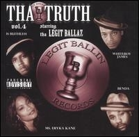 "LEGIT BALLAZ ""VOL. 4: THA TRUTH"" (CD)"