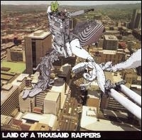 "LAND OF A THOUSAND RAPPERS ""VOL. 1: FALL OF THE PILLARS"" (CD)"