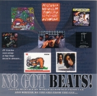 "N8 THE GR8 (FROM THE CUF) ""N8 GOT BEATS!"" (CD)"