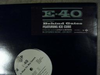 "E-40 ""BEHIND GATES / TO WHOM THIS MAY CONCERN"" (12INCH)"
