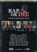 "RAP OR DIE ""THE DOCUMENTARY VOL. 1"" (DVD)"