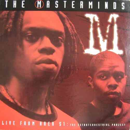 "THE MASTERMINDS ""LIVE FROM AREA 51"" (CD)"