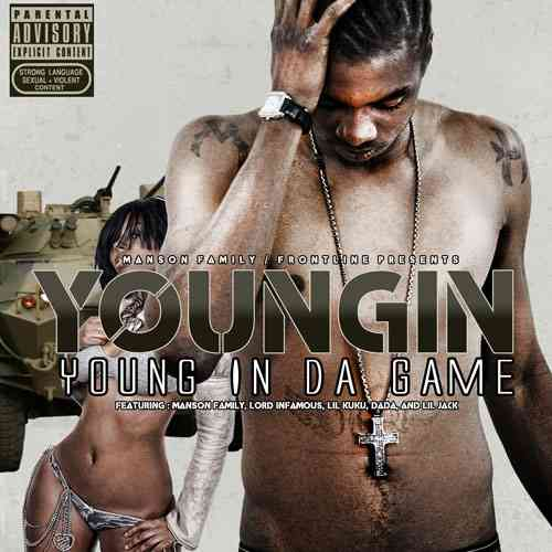 "YOUNGIN (MANSON FAMILY) ""YOUNG IN DA GAME"" (NEW CD)"