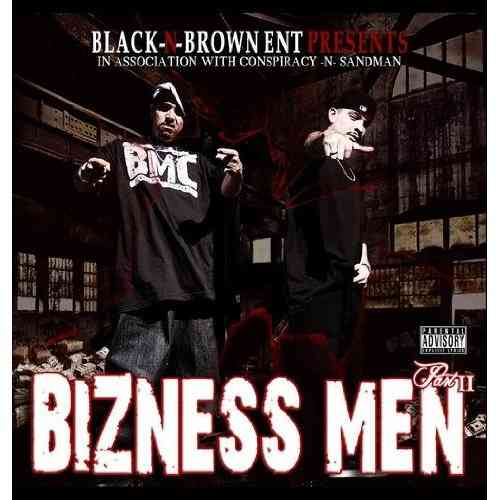 "CONSPIRACY & SANDMAN ""BIZNESS MEN: PART II"" (CD)"