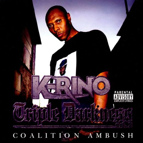 "K-RINO ""TRIPLE DARKNESS VOL. 3: COALITION AMBUSH"" (NEW CD)"