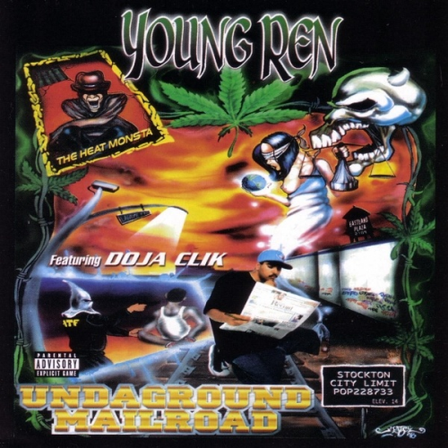 "YOUNG REN (DOJA CLIK) ""UNDAGROUND MAILROAD"" (USED CD)"