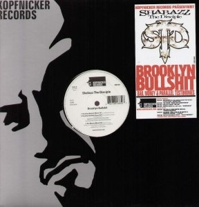 "SHABAZZ THE DISCIPLE ""BROOKLYN BULLSHIT"" (12INCH)"