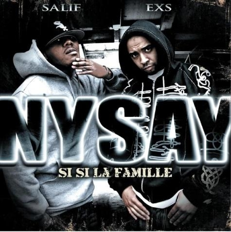 "NYSAY ""SI SI LA FAMILLE"" (CD)"