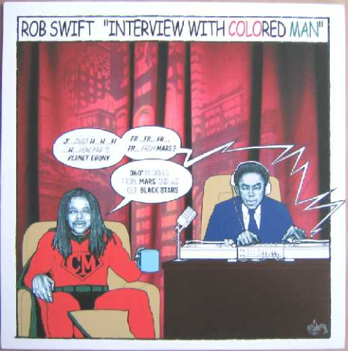 "ROB SWIFT ""INTERVIEW WITH COLORED MAN / 2 3 BREAK"" (12INCH)"