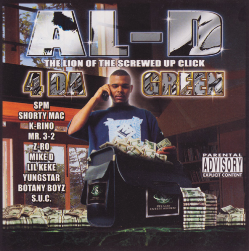 "AL-D ""4 DA GREEN"" (USED CD)"