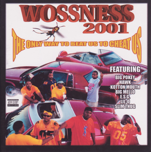 "WOSS NESS ""THE ONLY WAY TO BEAT US TO CHEAT US"" (USED CD)"