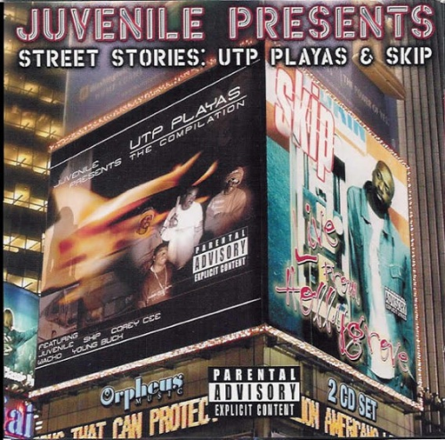 "JUVENILE PRESENTS STREET STORIES ""UTP PLAYAS & SKIP"" (2CD)"