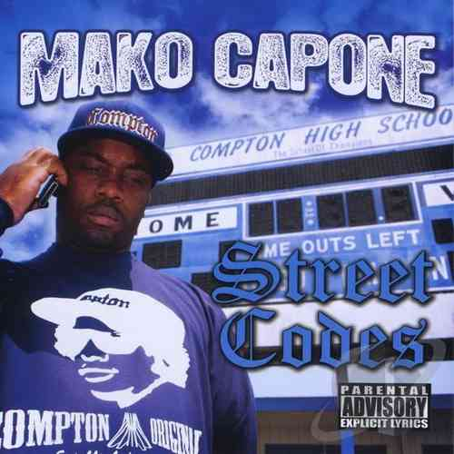 "MAKO CAPONE ""STREET CODES"" (NEW CD)"