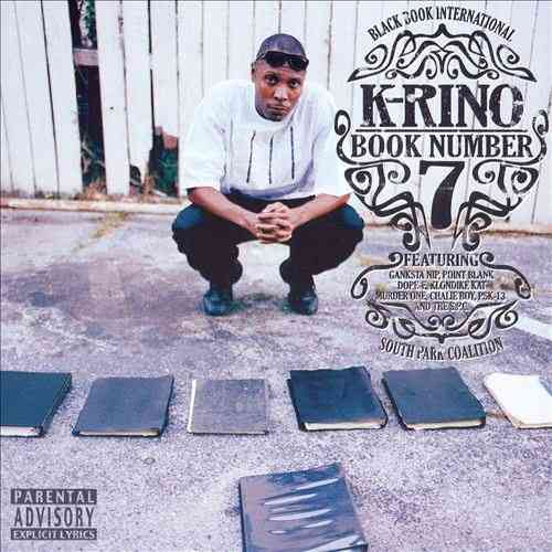 "K-RINO ""BOOK NUMBER 7"" (NEW CD)"