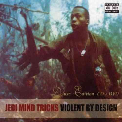 "JEDI MIND TRICKS ""VIOLENT BY DESIGN: DELUXE EDITION"" (CD+DVD)"