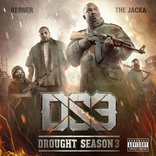 "BERNER & THE JACKA ""DROUGHT SEASON 3"" (NEW CD)"