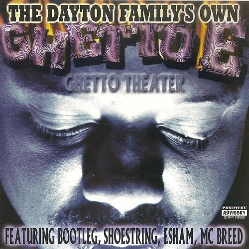 "GHETTO E (FROM THE DAYTON FAMILY) ""GHETTO THEATER"" (USED CD)"