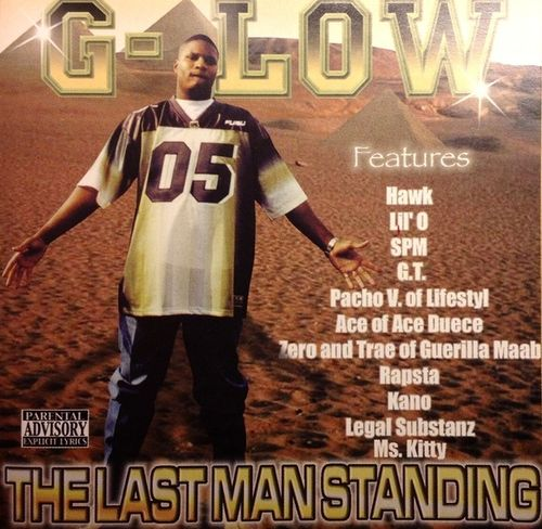 "G-LOW ""THE LAST MAN STANDING"" (NEW CD)"
