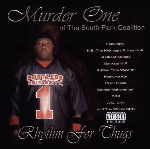 "MURDER ONE ""RHYTHM FOR THUGS"" (NEW CD)"