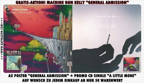 "MACHINE GUN KELLY ""PROMO BUNDLE"" (A2 POSTER + CD SINGLE)"