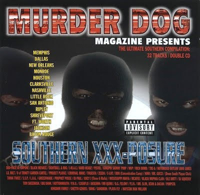 "MURDER DOG PRESENTS ""SOUTHERN XXX POSURE"" (USED 2-CD)"