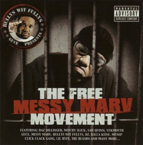 "GUCE PRESENTS ""THE FREE MESSY MARV MOVEMENT"" (USED CD)"