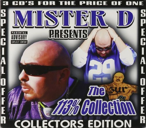 "MISTER D PRESENTS ""THE 113% COLLECTION"" (USED 3-CD)"