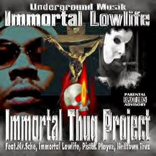 "IMMORTAL LOWLIFE ""IMMORTAL THUG PROJECT"" (USED CD)"