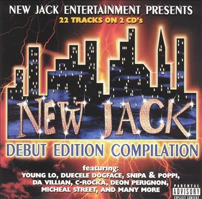"NEW JACK ENTERTAINMENT ""NEW JACK: DEBUT EDITION COMPILATION"" (USED 2-CD)"
