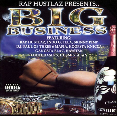 "RAP HUSTLAZ PRESENTS ""BIG BUSINESS"" (USED CD)"