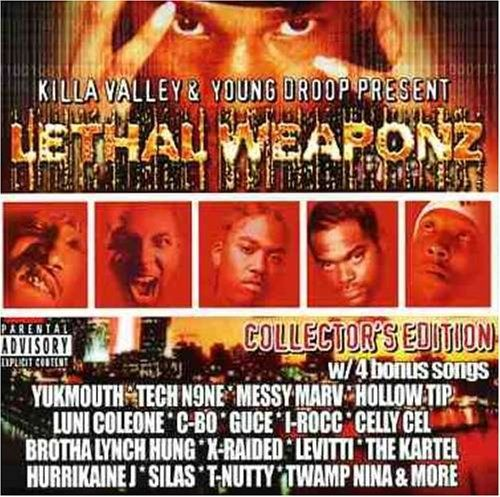 "KILLA VALLEY & YOUNG DROOP PRESENT ""LETHAL WEAPONZ"" (USED CD)"