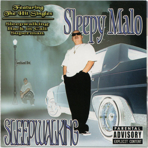 "SLEEPY MALO ""SLEEPWALKING"" (USED CD)"
