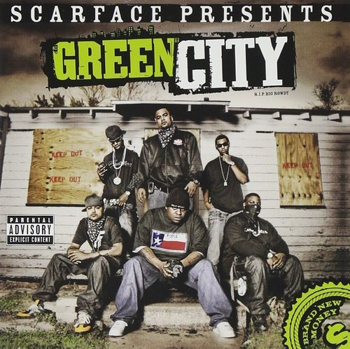 "SCARFACE PRESENTS GREEN CITY ""BRAND NEW MONEY"" (USED CD)"