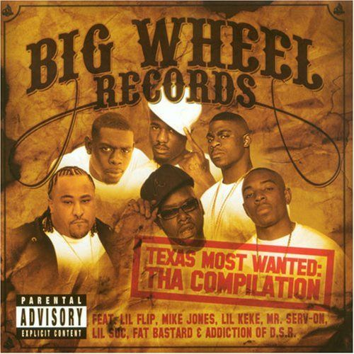 "BIG WHEEL RECORDS ""TEXAS MOST WANTED"" (USED CD)"