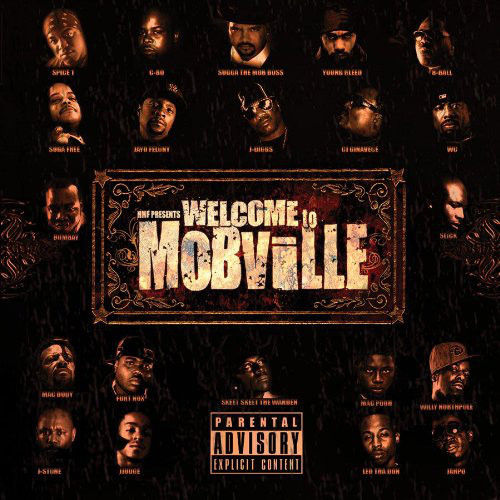 "HMF PRESENTS ""WELCOME TO MOBVILLE"" (USED CD+DVD)"