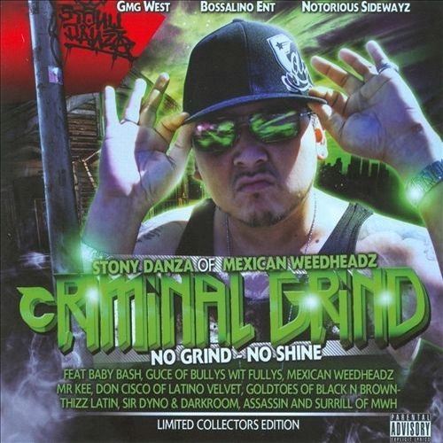 "STONY DANZA ""CRIMINAL GRIND"" (USED CD)"