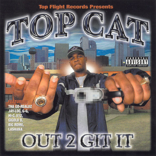 "TOP CAT ""OUT 2 GIT IT"" (USED CD)"