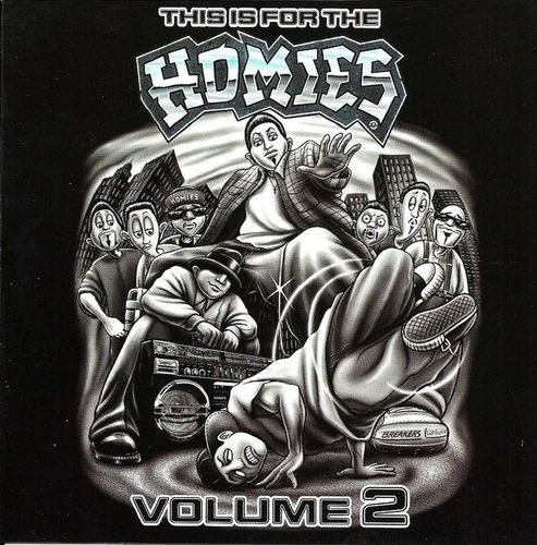 "VARIOUS ARTISTS ""THIS IS FOR THE HOMIES - VOLUME 2"" (USED CD)"