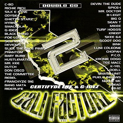"CERTIFYDE ENT. & G-IDEZ ""CALI FACTORZ 2"" (USED 2-CD)"