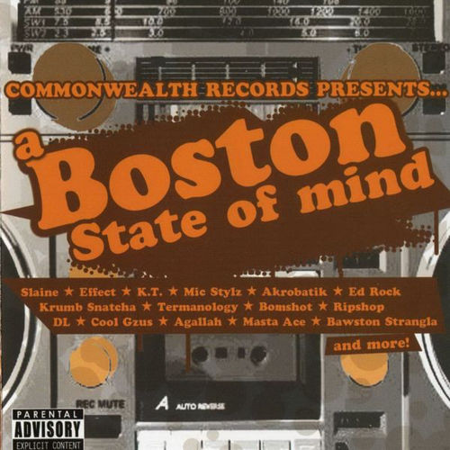 "COMMONWEALTH RECORDS ""BOSTON STATE OF MIND"" (USED CD)"