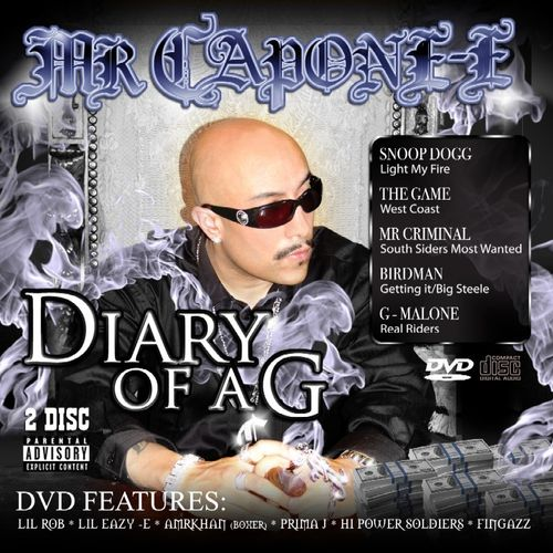 "MR. CAPONE-E ""DIARY OF A G"" (USED CD+DVD)"